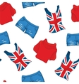 Pattern Of Londen Color Clothes vector image