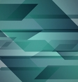Abstract green background with geometric shapes vector image vector image