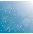 snowstorm vector image