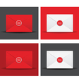 seal envelope set vector image