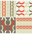 Seamless patterns Waves vector image