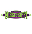 Mississippi The Magnolia State vector image