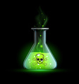 poisonous liquid Stock vector image