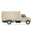 cargo truck 06 vector image