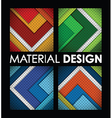material design group vector image vector image