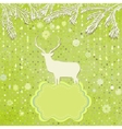 Christmas ornaments made from snowflakes EPS 8 vector image