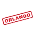 Orlando Rubber Stamp vector image
