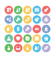 Science Colored Icons 11 vector image