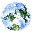 Hand Drawn Earth3 vector image