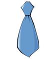 tie clothing accessoire vector image
