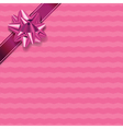 Pink Present Background vector image vector image