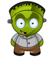 Frankensteins Monster Happy vector image vector image