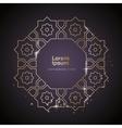 Arabic ornament Design Element vector image