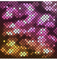 Background with mosaic vector image