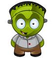 Frankensteins Monster Happy vector image