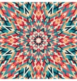 Kaleidoscope geometric colorful pattern Abstract vector image