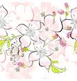 spring seamless wallpaper vector image