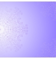 Violet background with lace pattern vector image