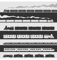 Train Set vector image