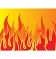 Aggressive fire Background EPS vector image