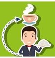 hotel employees avatar icon vector image
