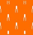 nail polish bottle pattern seamless vector image