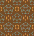 seamless retro abstract ornament vector image