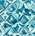 cold color diamond seamless pattern vector image