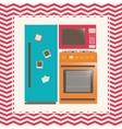 House appliances design vector image