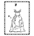 Ball Gown vector image