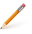 Pencil Isolaed on White Background vector image
