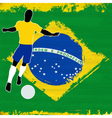 Football Brazil vector image