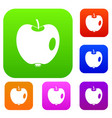 apple set collection vector image