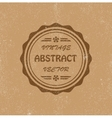 Vintage abstract background vector image
