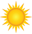 Summer Hot Sun vector image