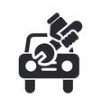 car repair icon vector image