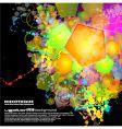 neon clutter vector image