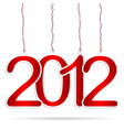happy new year tags vector image vector image
