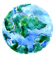Hand Drawn Earth4 vector image