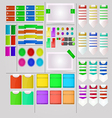 Interesting User Interface Design vector image