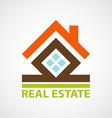 Logo real estate vector image