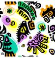 pattern hand drawn vector image