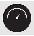 information icon - dial symbol vector image