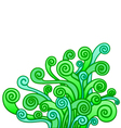 abstract plant vector image