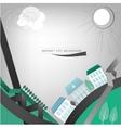 01 City landscape vector image