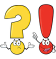Punctuation Cartoon vector image vector image