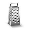 grater isolated on white vector image