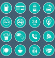 16 gas station icons Fuel glyph icons vector image