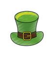 leprechaun hat design vector image