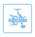 Icon of Fishing reel vector image